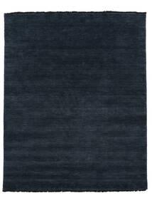 Handloom Fringes - Dark Blue Rug 250X300 Modern Dark Blue/Blue Large (Wool, India)