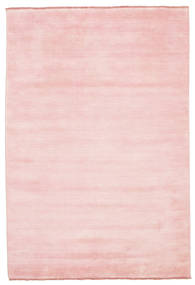 Handloom Fringes - Pink Rug 160X230 Modern Light Pink (Wool, India)