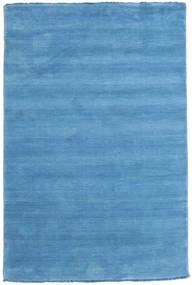 Handloom Fringes - Light Blue Rug 120X180 Modern Light Blue/Blue (Wool, India)