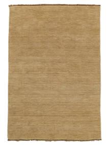 Handloom Fringes - Beige Rug 140X200 Modern Dark Beige/Light Brown (Wool, India)