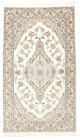 Nain 6La Habibian Rug 103X177 Authentic  Oriental Handknotted Beige/Light Grey (Wool/Silk, Persia/Iran)