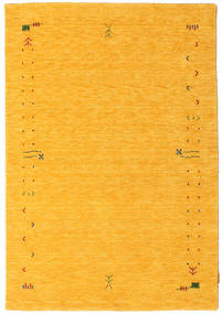 Gabbeh Loom Frame - Yellow Rug 140X200 Modern Yellow/Orange (Wool, India)