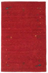Gabbeh Loom Frame - Rust Red Rug 100X160 Modern Crimson Red (Wool, India)