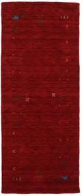 Gabbeh Loom Frame - Red Rug 80X200 Modern Hallway Runner  Dark Red (Wool, India)