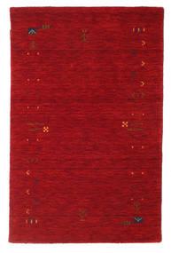 Gabbeh Loom Frame - Red Rug 100X160 Modern Crimson Red/Dark Red (Wool, India)
