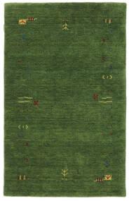 Gabbeh Loom Frame - Green Rug 100X160 Modern Dark Green/Dark Green (Wool, India)
