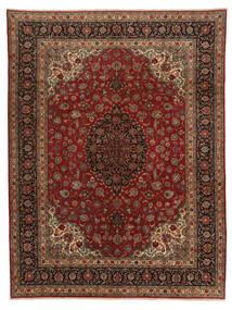 Qum Kork Rug 298X390 Authentic  Oriental Handknotted Dark Brown/Brown Large (Wool, Persia/Iran)