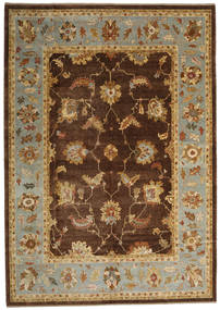 Oushak Rug 294X414 Authentic  Oriental Handknotted Dark Brown/Light Brown Large (Wool, Turkey)