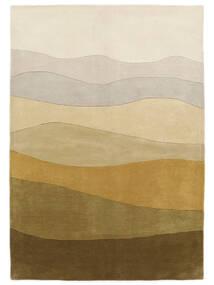 Feeling Handtufted - Brown Rug 200X300 Modern Dark Beige/Olive Green (Wool, India)