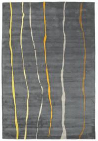 Flaws Handtufted - Grey Rug 200X300 Modern Light Grey/Dark Grey/Blue (Wool, India)