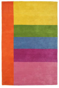 Colors By Meja Handtufted Rug 120X180 Modern Light Pink/Yellow (Wool, India)