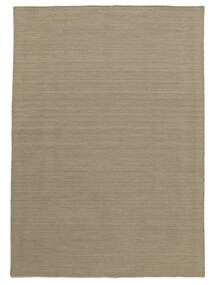 Kilim Loom - Light Grey/Beige Rug 160X230 Authentic  Modern Handwoven Light Grey (Wool, India)