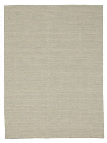 Kilim Loom - Light Grey/Beige Rug 140X200 Authentic Modern Handwoven Light Grey (Wool, India)