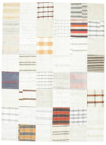 Kilim Patchwork Rug 170X229 Authentic  Modern Handwoven (Wool, Turkey)