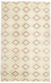 Colored Vintage Rug 182X298 Authentic  Modern Handknotted Beige/Dark Beige (Wool, Turkey)