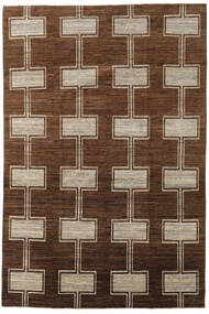 Ziegler Modern Rug 195X292 Authentic  Modern Handknotted Brown/Dark Brown (Wool, Pakistan)