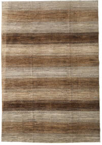 Ziegler Modern Rug 197X285 Authentic  Modern Handknotted Brown/Dark Beige (Wool, Pakistan)