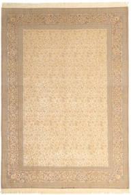 Isfahan Silk Warp Signed: Dardashti Rug 250X350 Authentic  Oriental Handknotted Beige/Light Brown Large (Wool/Silk, Persia/Iran)