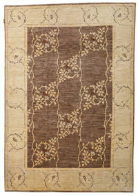 Ziegler Modern Rug 202X294 Authentic  Modern Handknotted Brown/Dark Beige (Wool, Pakistan)