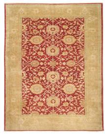 Egypt Rug 306X391 Authentic Oriental Handknotted Dark Beige/Crimson Red Large (Wool, Egypt)