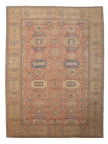 Egypt Rug 418X559 Authentic  Oriental Handknotted Brown/Dark Red Large (Wool, Egypt)