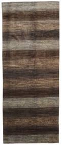 Ziegler Modern Rug 193X487 Authentic  Modern Handknotted Hallway Runner  Dark Brown/Light Grey (Wool, Pakistan)