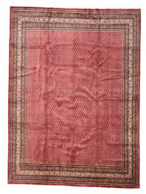 Sarouk Mir Rug 277X375 Authentic  Oriental Handknotted Dark Red/Rust Red Large (Wool, Persia/Iran)