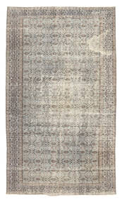 Colored Vintage Rug 151X256 Authentic  Modern Handknotted Light Grey (Wool, Turkey)