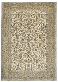 Keshan Patina Signed: Tabatabai Rug 275X390 Authentic  Oriental Handknotted Beige/Dark Grey Large (Wool, Persia/Iran)
