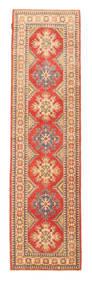 Turkeman Ariana Rug 84X312 Authentic Oriental Handknotted Hallway Runner Rust Red/Light Brown (Wool, Afghanistan)