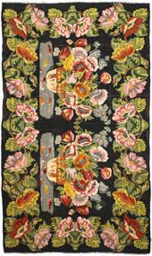 Rose Kelim Rug 227X394 Authentic  Oriental Handwoven (Wool, Moldova)