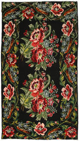 Rose Kelim Rug 177X325 Authentic  Oriental Handwoven (Wool, Moldova)