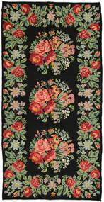 Rose Kelim Rug 172X350 Authentic  Oriental Handwoven (Wool, Moldova)