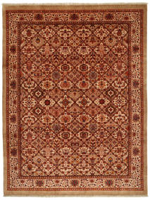 Jozan Rug 261X346 Authentic  Oriental Handknotted Rust Red/Crimson Red Large (Wool, Persia/Iran)