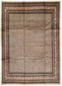 Arak Rug 245X345 Authentic  Oriental Handknotted Dark Brown/Light Brown (Wool, Persia/Iran)