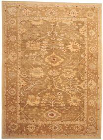 Oushak Rug 328X446 Authentic  Oriental Handknotted Light Brown/Dark Beige/Brown Large (Wool, Turkey)