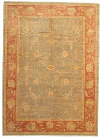Oushak Rug 304X418 Authentic  Oriental Handknotted Light Brown/Dark Beige Large (Wool, Turkey)