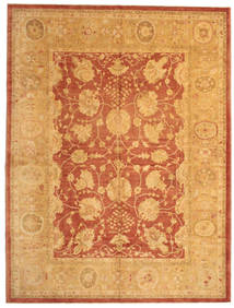 Oushak Rug 312X412 Authentic  Oriental Handknotted Light Brown Large (Wool, Turkey)