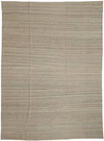 Kilim Modern Rug 206X282 Authentic  Modern Handwoven Light Grey (Wool, Afghanistan)
