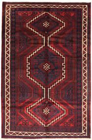 Lori Rug 163X248 Authentic  Oriental Handknotted Dark Red/Dark Brown (Wool, Persia/Iran)