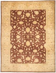 Ziegler Rug 273X359 Authentic  Oriental Handknotted Dark Beige/Light Brown Large (Wool, Pakistan)