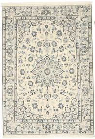 Nain 9La Rug 138X198 Authentic  Oriental Handknotted (Wool/Silk, Persia/Iran)