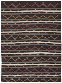 Kilim Semi Antique Turkish Rug 240X335 Authentic  Oriental Handwoven Dark Brown/Light Brown (Wool, Turkey)