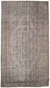 Colored Vintage Rug 174X312 Authentic  Modern Handknotted Light Grey/Dark Grey (Wool, Turkey)