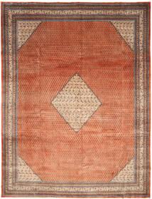 Sarouk Mir Rug 297X390 Authentic  Oriental Handknotted Dark Red/Light Brown Large (Wool, Persia/Iran)