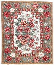 Rose Kelim Moldavia Rug 177X213 Authentic  Oriental Handwoven Light Brown/Dark Brown (Wool, Moldova)