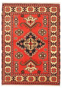 Kazak Rug 105X149 Authentic  Oriental Handknotted Crimson Red/Dark Brown (Wool, Pakistan)
