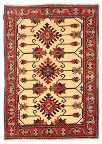 Kazak Rug 103X153 Authentic  Oriental Handknotted Dark Red/Light Brown (Wool, Pakistan)