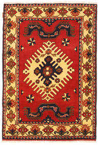 Kazak Rug 100X149 Authentic  Oriental Handknotted Rust Red/Dark Brown (Wool, Pakistan)
