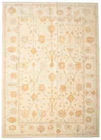 Oushak Rug 334X463 Authentic  Oriental Handknotted Beige Large (Wool, Turkey)